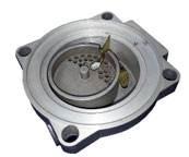 oscillating piston flow meters