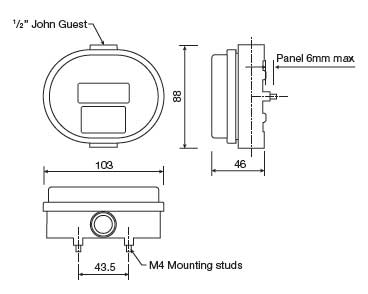 oval gear totalising flow meter