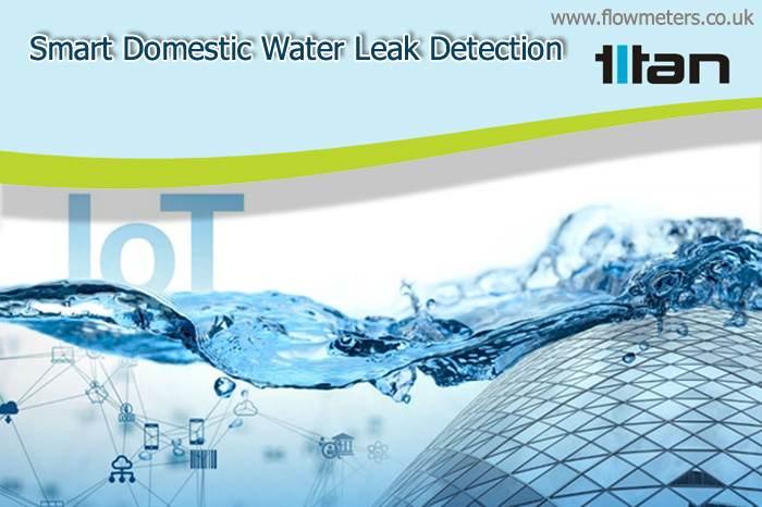 smart domestic water leak detection